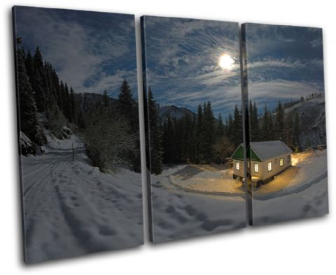 Mountain Cabin Landscapes - 13-2210(00B)-TR32-LO